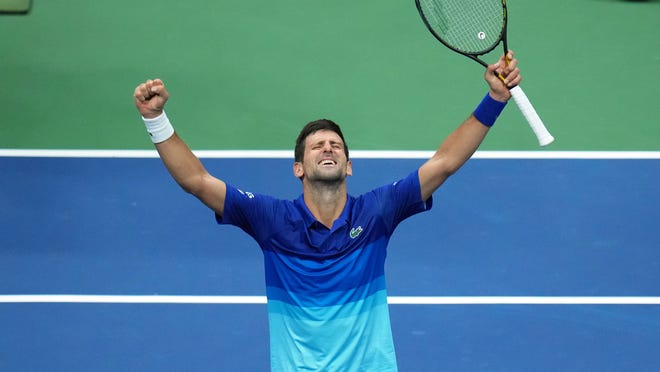 Novak Djokovic ends US Open hopes of promising 20-year-old American Jenson Brooksby